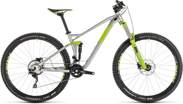Mens Cube Full Suspension MTB with 0% Finance | Free