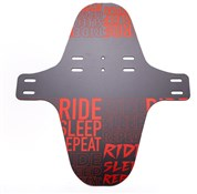 35Bikes Ride Sleep Repeat XL Front Mudguard