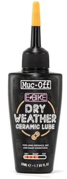 Muc-Off e-Bike Dry Weather Ceramic Lube | Rengøring og smøremidler