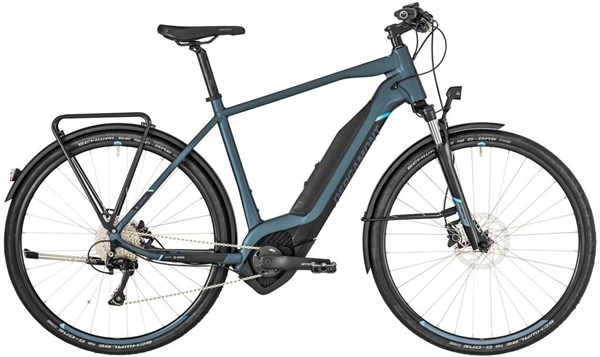 Bergamont E-Helix 8 EQ 2019 - Electric Hybrid Bike | City