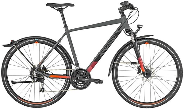 Bergamont Helix 4 EQ 2019 - Hybrid Sports Bike | City-cykler