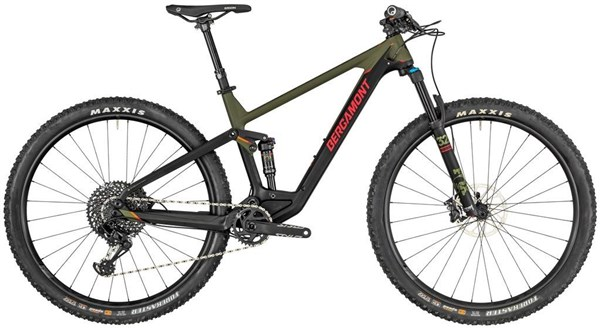 Bergamont Contrail Elite 29er Mountain Bike 2019 - Trail Full Suspension MTB | MTB