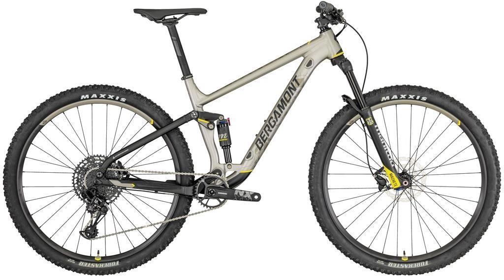Bergamont Contrail 5 29er Mountain Bike 2019 - Trail Full Suspension MTB | MTB