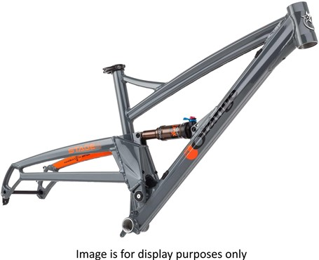 "Orange Stage 4 27.5"" MTB Frame"