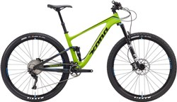 Product image for Kona Hei Hei Deluxe Carbon 29er - Nearly New - L Mountain Bike 2017 - Full Suspension MTB