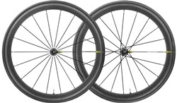 Product image for Mavic Cosmic Pro Carbon UST Clincher 700c Road Wheels