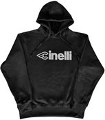 Product image for Cinelli Black Reflective Hoodie