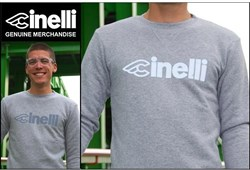 Cinelli Grey Reflective Sweatshirt