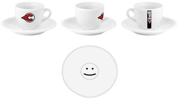 Cinelli Espresso Mugs