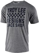Troy Lee Designs Skyline Short Sleeve Checker Tech Tee