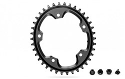 Product image for absoluteBLACK Cx 1x Oval 110/5 Chainring