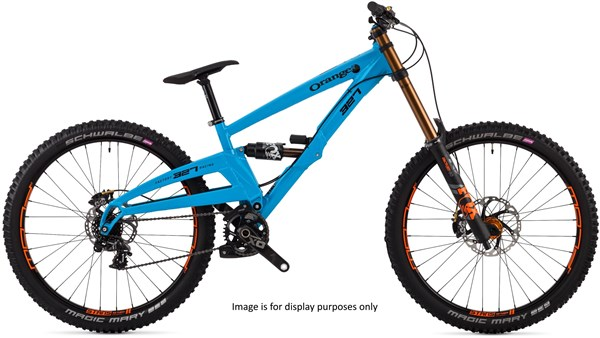 "Orange 327 Factory 27.5"" Mountain Bike 2019 - Downhill Full Suspension MTB"