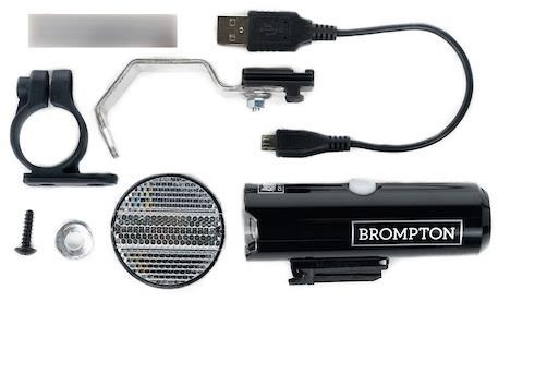 Brompton Cateye Volt400 Front Battery Lamp | Computer Battery and Charger