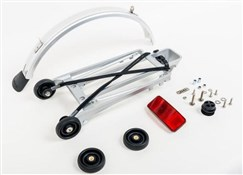 Brompton Rack Set Complete With 4 Rollers and Mudguard