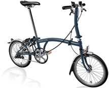 Product image for Brompton S3L - Tempest Blue 2019 - Folding Bike