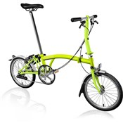 Product image for Brompton S2L - Lime 2019 - Folding Bike
