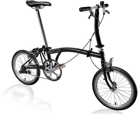 Brompton S1E - Black 2020 - Folding Bike