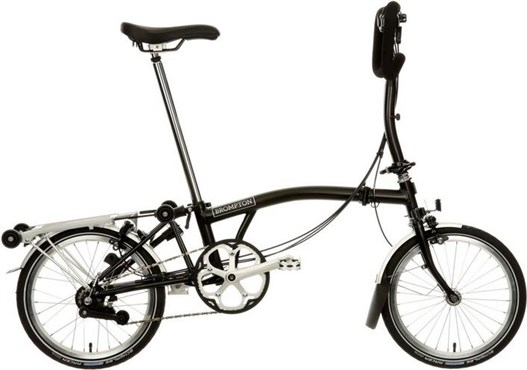 Brompton P6R - Black 2019 - Folding Bike | Foldecykler