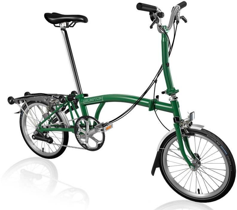Brompton M6R - Racing Green 2020 - Folding Bike | Folding
