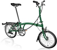 Brompton M6R - Racing Green 2019 - Folding Bike