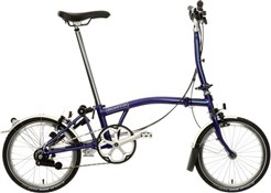 Product image for Brompton M6L - Purple Metallic 2019 - Folding Bike