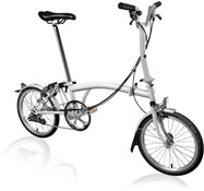 Brompton M6L - Papyrus White 2020 - Folding Bike