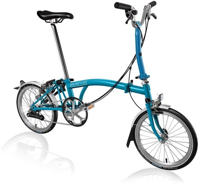 Brompton M6L - Lagoon Blue 2019 - Folding Bike | Folding