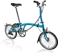 Brompton M6L - Lagoon Blue 2019 - Folding Bike