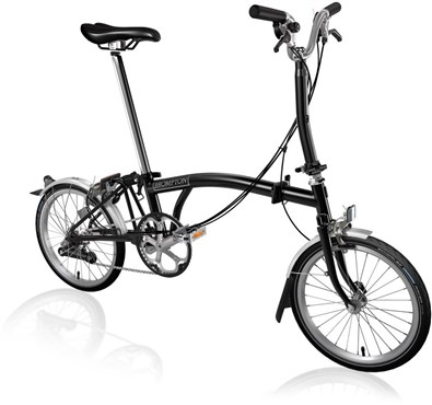 Brompton M6L - Black 2019 - Folding Bike | Foldecykler