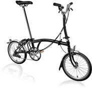 Brompton M6L - Black 2019 - Folding Bike