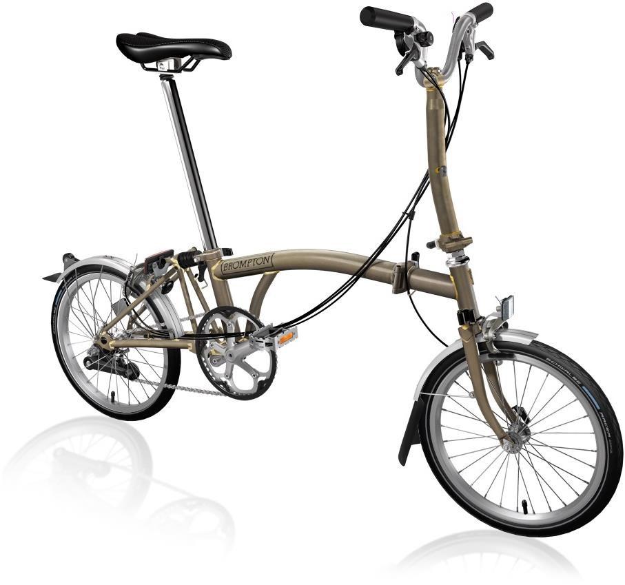 Brompton M6L - Raw Lacquer 2020 - Folding Bike | Folding