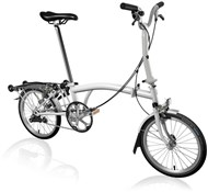 Brompton M3R - Papyrus White 2020 - Folding Bike