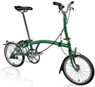 Brompton M3L - Racing Green 2020 - Folding Bike