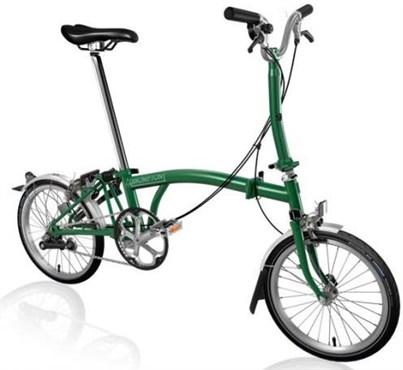 Brompton M3L - Racing Green 2019 - Folding Bike