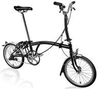 Brompton M3L - Black 2020 - Folding Bike