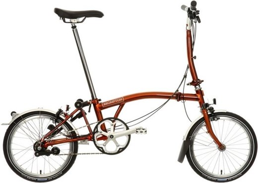 Brompton M3L - Flame Lacquer 2019 - Folding Bike | Foldecykler