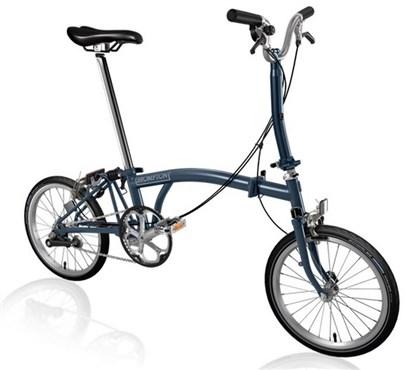Brompton M3E - Tempest Blue 2019 - Folding Bike | Foldecykler