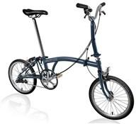 Brompton M3E - Tempest Blue 2019 - Folding Bike