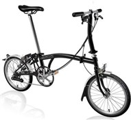 Brompton S6L - Black 2020 - Folding Bike
