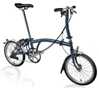 Brompton S6L - Tempest Blue 2019 - Folding Bike