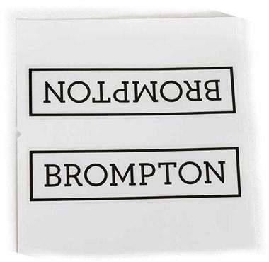 Brompton Main Frame Brompton Logo Decal