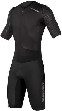 Endura QDC D2Z Short Sleeve Cycling Tri Suit II with SST - QDC Tri Pad