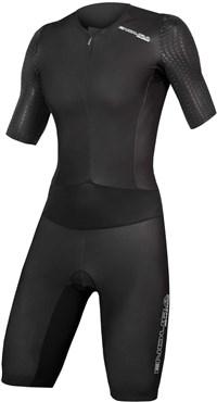 Endura QDC D2Z Short Sleeve Womens Cycling Tri Suit II with SST - QDC Tri Pad