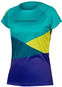 Product image for Endura SingleTrack Core Print Womens Tech Tee