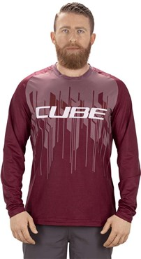 Cube Edge Round Neck Long Sleeve Jersey