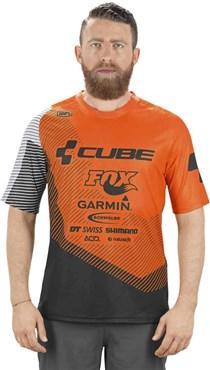 Cube Edge Round Neck Short Sleeve Jersey