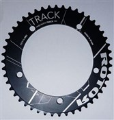 Product image for Rotor NoQ Round 5 Bolt Track Chainring