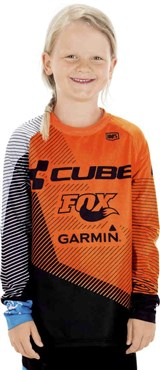 Cube Edge Junior Long Sleeve Jersey