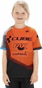 Cube Edge Junior Short Sleeve Jersey