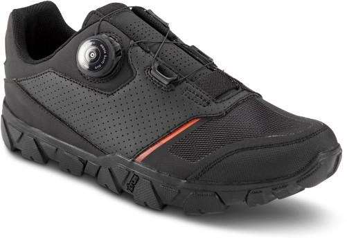 Cube All Mountain IBEX Pro MTB SPD Shoes | Shoes and overlays